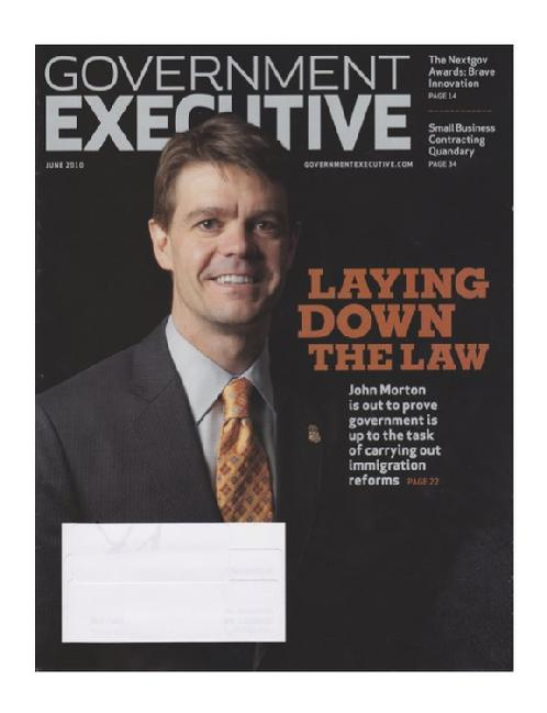 Click to Download Government Executive Article